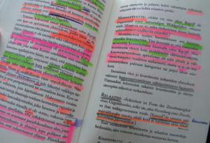 como estudiar sin subrayar