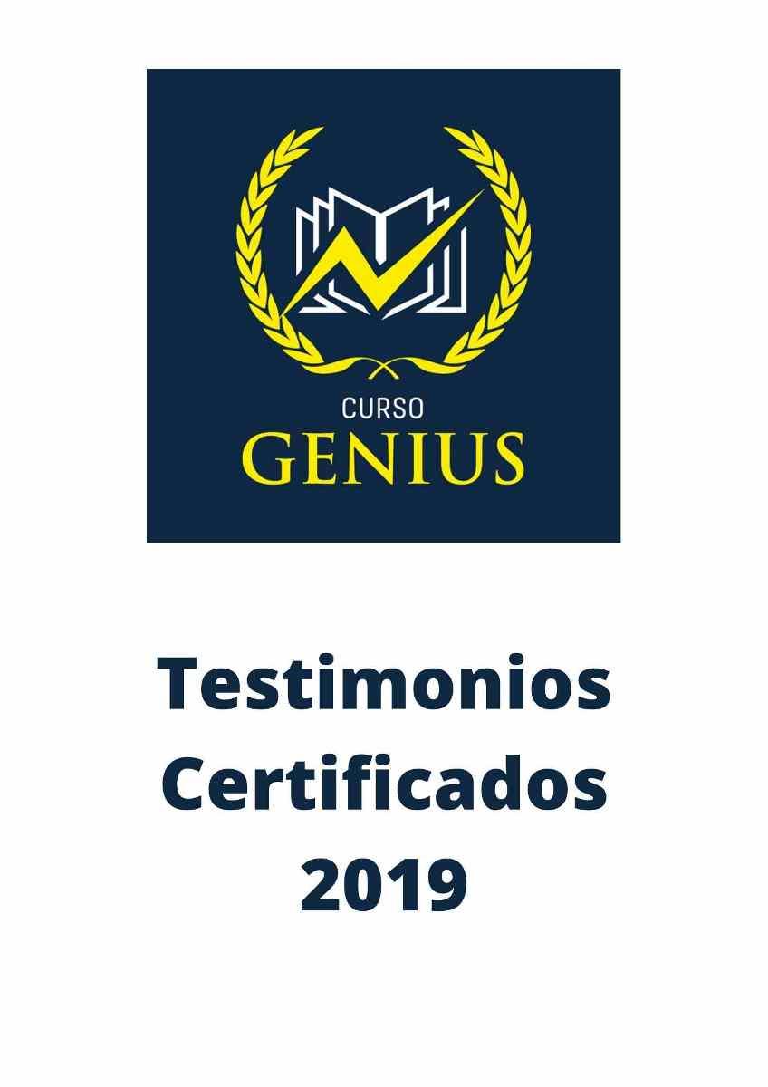 Testimonios Certificados 2019